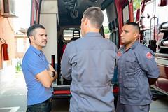 Entrega caminhão de bombeiros (Prefeitura do Município de Bertioga) Tags: entrega caminhão de bombeiros reforço segurança prefeito caio matheus prefeitura bertioga viatura