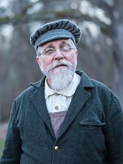 IMGPJ24236_Fk - Spring Mill State Park - Pioneer Village Christmas - 2017 (David L. Black) Tags: stateparks springmillstatepark olympusomdem1mkii olympus45f12