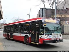 Toronto Transit Commission #8853 (vb5215's Transportation Gallery) Tags: ttc toronto transit commission 2017 nova bus lfs