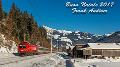 1116_091 + ic  at Kirchberg in Tirol (Frank Andiver - Trains, transports and more...) Tags: 1116 1116091austria giselabahn ic neve obb kirchbergintirol tirol austria taurus siemens snow binario treno train