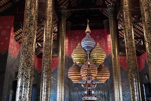 Rajaphruek Temple, Chiang Mai, Thailand
