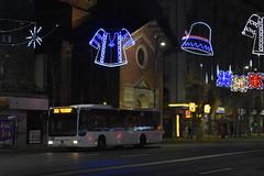 Christmas in Bucharest (WT_fan06) Tags: christmas bucharest craciun bucuresti night light lumina decorations decoratiuni city centre centru old town vechi tradition noapte iarna winter artsy aesthetic 2017 vibes nikon d3400 romania magheru