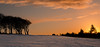 sunset and silhouette's (poach01) Tags: sunset silhouettes wintersun goldenlight goldenhour snow ice