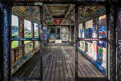 old and almost forgotten (A.Dissing) Tags: graffiti hdr contrast magic multicolor mushroom close color colour chilling access a7ii anders a7 amazing art adventure awesome a7m2 abandoned artistic angle denmark dissing dark danmark dirty day detail dope down door train old forgotten forget danish