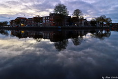 canal in Haarlem