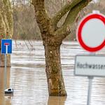 Hochwasser Biebricher Rheinufer & Schiersteiner Hafen 07.01.18 thumbnail