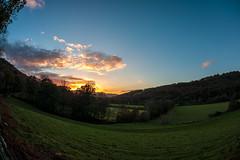 North Wales winter sunset (airpower) Tags: wales north dolgellau uk united kingdom nature sunset tree landscape outdoors sky summer scenics meadow sunlight forest grass sun ruralscene mountain dusk beautyinnature sunrisedawn hill cloudsky