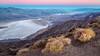Good Morning Death Valley! (Kirk Lougheed) Tags: beltofvenus california dantesview deathvalley deathvalleyephedra deathvalleynationalpark earthshadow ephedra ephedrafunerea mormontea usa unitedstates mountain nationalpark park plant saltflat saltpan sunrise valley