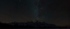Milky Way over the Tetons (Jeff Bernhard) Tags: geminid grandtetonnationalpark gtnp jackson jacksonhole meteor meteorshower mygtnp night sky stars tetons wyoming