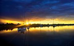 Yamba. Sunsets. (miaow) Tags: spring2017 northern nsw bellalunaboat abcmyphoto exploring australia yamba