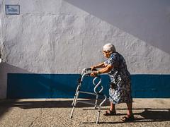 Old woman (Vitor Pina) Tags: street streetphotography scenes streets shadows light contrast candid urban urbano rua mulher moments momentos photography people pessoas algarve