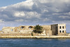 Weather over the Forteza (old.pappous) Tags: chania fortesa hania venetianfortress xania calm cloudy harbor harborside harbour harbourside lowcloud sunny weather creteregion greece gr