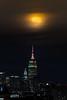 Wolf Moon (aka Snow Moon) ([ raymond ]) Tags: empirestatebuilding esb january moon newyork night nyc skyline supermoon wolfmoon