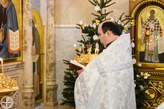 В Минской духовной академии молитвенно встретили Рождество Христово