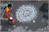 7481 - Kolam contest, Mylapore Festival (chandrasekaran a 44 lakhs views Thanks to all) Tags: india tamilnadu chennai mylapore culture heritage festivals tradition kolam travel competition pongal canon