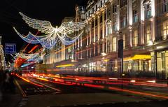2017-12-02-0110 (Kevin Maschke) Tags: london fuji fujifilm fujifilmxt2 fujixt2 fujix longexposure longexpo slowshutter lighttraces lightpainting city londoncity londonstreets christmas christmaslights londonchristmas christmaslondon