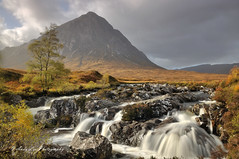 The Air Of Solitude (Andy Lea Photography) Tags: waterfall river mountain scotland wind tree rocks andy lea photography landscape