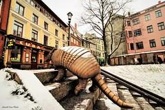 armadillo in city (Ivan Zanotti Photo) Tags: riga latvia lettonia landscape sky city oldcity vecriga cityscapes dugava winter neve inverno travel balticstate natgeo natgeotravel geo
