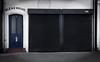 Bleak House (Steve Taylor (Photography)) Tags: bleakhouse 16a letterbox shutter shop store black blue white uk gb england greatbritain unitedkingdom margate door