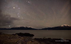 Taking it all in (Traylor Photography) Tags: gemini belugapoint milkyway geminidmeteorshower cloudy alaska constellation sewardhighway lowtide starrynight anchorage