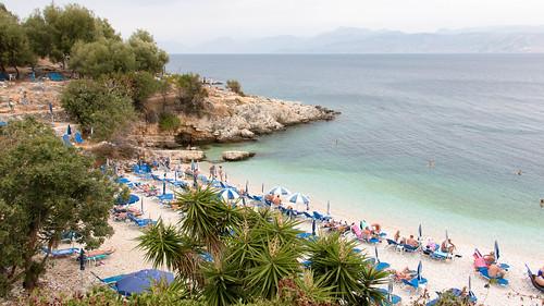 Strand bei Kassiopi (Korfu)