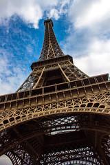 Tour Eiffel (melanie-pictures) Tags: paris tour eiffel plonge monument dame fer