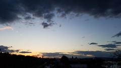 Skyline Silhouette at Sunset (grinnin1110) Tags: de deutschland europe germany landeshauptstadt mainz rheinlandpfalz rhinelandpalatinate outdoor silhouette skyline sunsetcolors