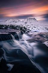 Glencoe (Bohumil Daňa) Tags: scotland landscape long exposure glencoe water winter colour canon mountain highlands aoi elitegalleryaoi bestcapturesaoi