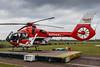 In Magdeburg fliegt ein Hubschrauber des Typs H 135 (Foto Norman Scholz) (DRF Luftrettung) Tags: h135 stationmagdeburg christoph36 drfluftrettung hubschrauber luftrettung