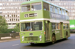 1984-09-06 EHU 364K Bristol VRT-ECW 5005 of Bristol OC,  Bristol (John Carter 1962) Tags: bus buses nbc bristolvr