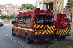 BX58 HCJ (markkirk85) Tags: lfb southwark renault master urban search rescue personnel van london fire brigade mpc20 service