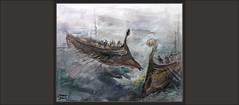 SALAMINA-PINTURA-BATALLA-NAVAL-ARTE-TEMISTOCLES-MAR-GRECIA-ATENAS-PERSIA-HISTORIA-GUERRAS MEDICAS-PINTURAS-PINTOR-ERNEST DESCALS (Ernest Descals) Tags: salamina batalla grecia greece griegos greek barcos naval flota atenas aliados jerjes temistocles estrategia historia ships battle batallas guerrasmedicas griegas persia persas derrota victoria lucha guerra antigüedad historicos personajes history marina marineros pintura pintar pinturas historicas pintures quadres cuadros cuadro general estrategos estratega paint pictures picture pintando pintant painting paintings war painter painters pintor ilustrar pintores arte art artwork soldiers soldados militar militares military plasrica ernestdescals plasticos artistas artist artistes grecs mar sea
