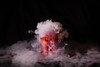 Red Drink (SmittyImagingLtd) Tags: dry ice dryice smoke science experiment color