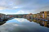 Dal ponte (RoLiXiA) Tags: sardegna sardinia sardaigne cerdeña bosa planargia conce vecchieconce conceottocentesche riflesso riflessi inverno fiumetemo