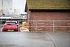 Sandbagged (Number Johnny 5) Tags: lines gtc d750 2470mm space red sandbag mundane banal nikon roof car vauxhall tamron astra angles railing documenting barrier