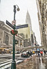 Snowing in the City (JMS2) Tags: streetscape newyorkcity snowing manhattan 42ndstreet grandcentral chryslerbuilding