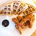 Chicken and Waffles, Ivy Moon Restaurant, Oakland, CA