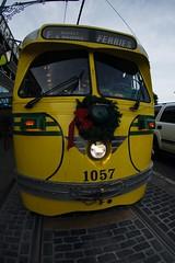 2567 Cheekbones (mliu92) Tags: sanfrancisco 1057 streetcar pcc muni fmarketwharves tokina atx 10173545