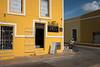 Yellow Crossing (Aymeric Gouin) Tags: mexico mexique yucatan valladolid city ville jaune yellow velo street urban rue urbain architecture house maison candid travel voyage fujifilm xt2 aymericgouin aymgo people