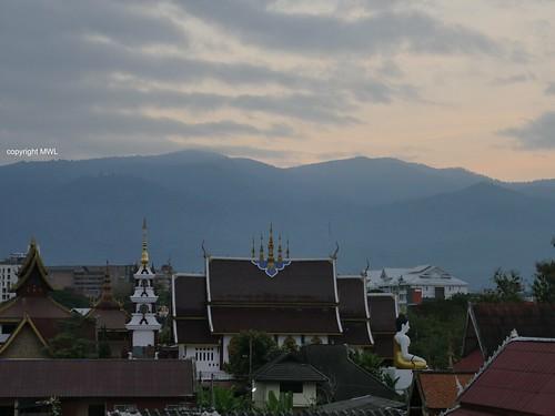 Doi Suthep-Pui view from Chiang Mai
