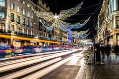 2017-12-16-0021 (Kevin Maschke) Tags: london fuji fujifilm fujifilmxt2 fujixt2 fujix longexposure longexpo slowshutter lighttraces lightpainting city londoncity londonstreets christmas christmaslights londonchristmas christmaslondon
