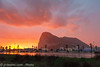 Gibraltar/GBZ - Sunrise @ The Rock (jr-teams.com - Photo) Tags: lalíneadelaconcepción andalucía spanien gibraltar spain uk great britain sunrise sunset orange blue