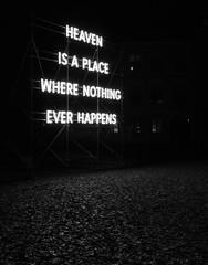 Heaven is a place... (simonbertilsson) Tags: light dark contemporary art street lund lunds domkyrka cathedral university black white bw monochrome bnw svartvit svartvitt svart vit blackwhite