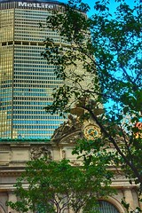 Grand Central and MetLife Building. (Fotofricassee) Tags: 42ndstreet grandcentralterminal grandcentralstation metlifebuilding panambuilding