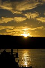 This sun (RoManLeNs) Tags: ut sunset sun travel water lake warm exploring romrom rom romanlens
