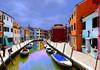 Burano , le bourg de Venise le plus coloré :série de 9 photos : (buch.daniele) Tags: burano danielebuch