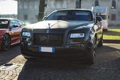 Rolls-Royce Wraith (lu_ro) Tags: rollsroyce ghost luxury expensive fancy fuckinflare sony a7 50mm samyang springboks italy milan milano black monster