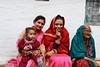 Bride wearing a nath (traditional nose ring) (SandeepSRawat) Tags: nath bride pahari