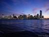 Jersey City at Dusk from Hudson River (Noti NaBox) Tags: jersey city dusk hudson river fleuve eau coucher de soleil ville ny new york panasonic panasonicg80 panasonicg85 g80 g85 buildings skycraper gratteciel