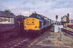 Photo of 37217 Sleaford 1Z87 30th July 1990